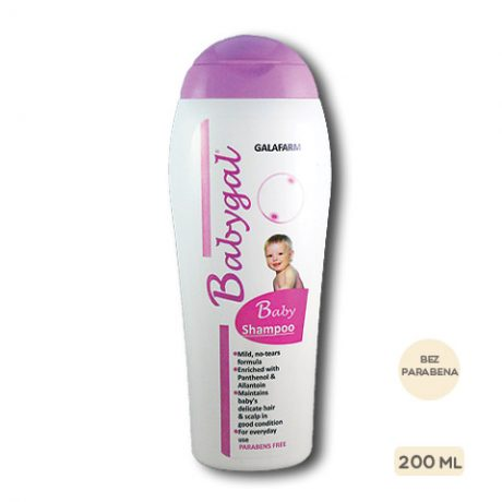 Babygal® šampon za bebe i decu bez parabena