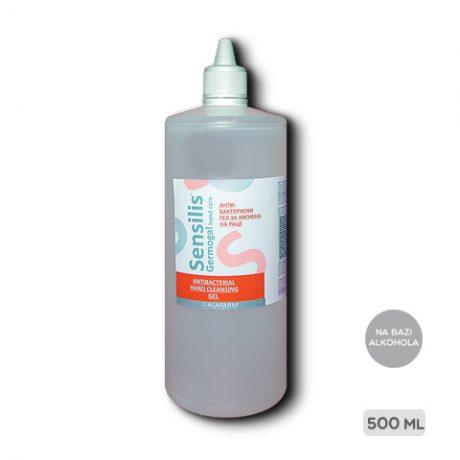 SENSILIS® antibakterijski gel za dezinfekciju ruku na bazi alkohola pakovanje 500 ml