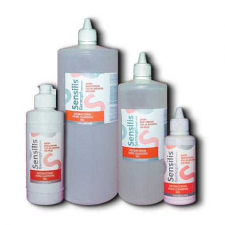 antibakterijski gel za ruke kolekcija od četiri pakovanja