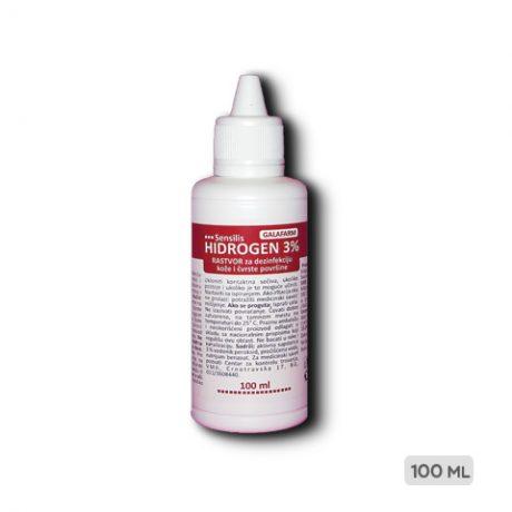 SENSILIS® hidrogen 3% rastvor pakovanje 100 ml