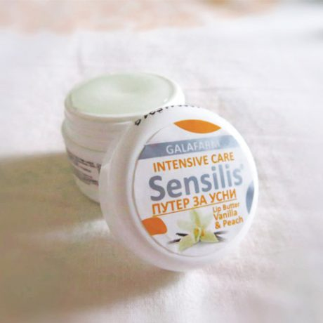 grožđana mast za usne sa mirisom vanile u plastičnoj kutijici