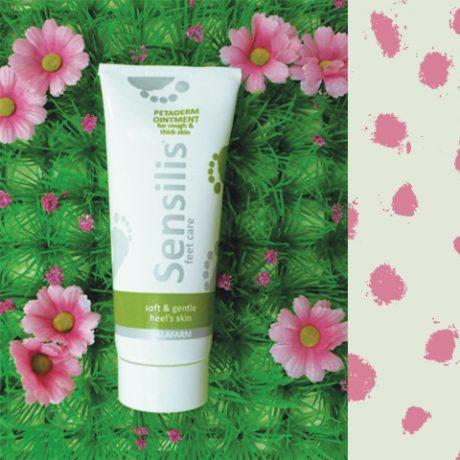 SENSILIS® Petaderm mast za negu zadebljale kože na petama sa salicilnom kiselinom u tubi od 100 ml