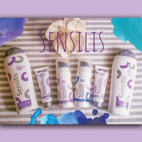 sensilis kolekcija za negu lica sa resveratrolom uslikani proizvodi
