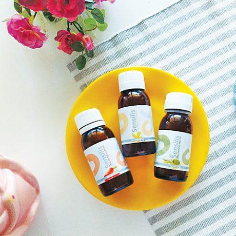 tri sensilis prirodna veganska biljna ulja šargarepa, kantarion i maslina