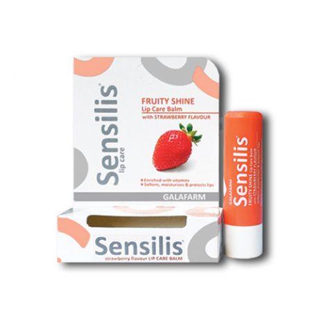 SENSILIS® stik/balzam za usne fruity shine stik za usne sa aromom jagode