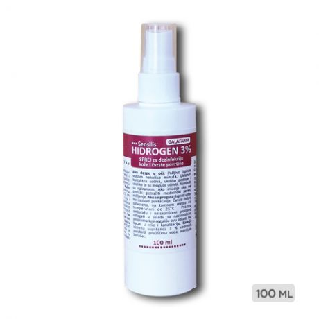 Hidrogen 3% sprej 100 ml