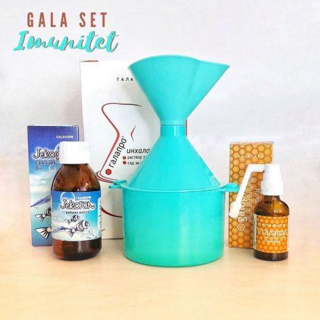 GALA SET imunitet poklon set za jačanje imuniteta koji se sastoji od tri proizvoda
