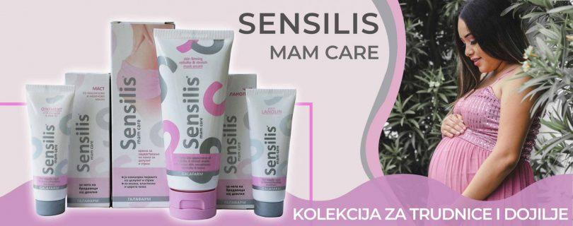 Sensilis Mam Care kolekcija za negu trudnice i dojilje