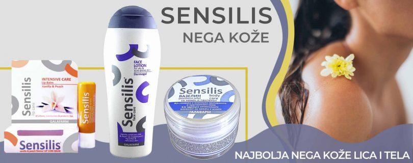 Sensilis nega koze - Nega kože lica i tela