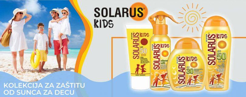 Solarus KIDS kolekcija za zaštitu od sunca za decu