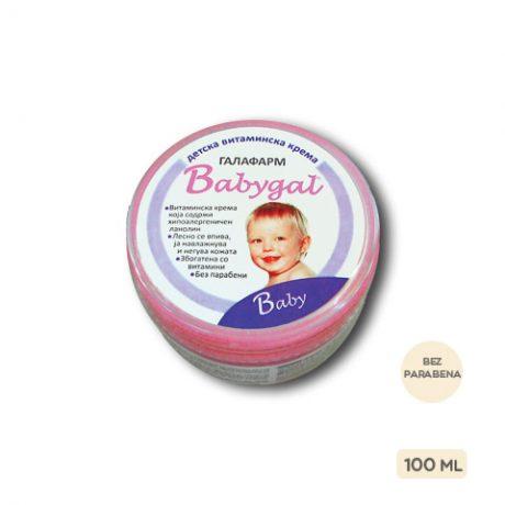 Babygal® vitaminska krema za bebe i decu 100 ml srednje pakovanje vitaminske kreme za negu bebe i decu bez parabena