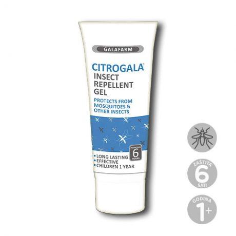 Citrogala® gel za zaštitu od komaraca i drugih insekata u plastičnoj tubi