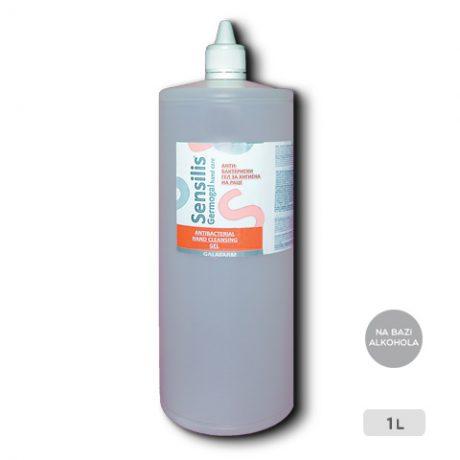 antibakterijski gel za dezinfekciju ruku na bazi alkohola pakovanje 1000 ml
