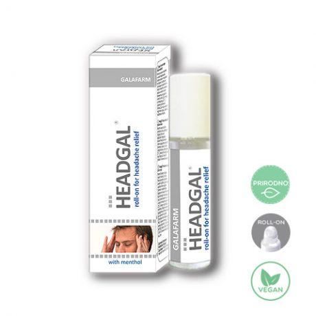 Hedgal roll-on za glavobolje i napetost prirodna uljana mešavina sa rolonom protiv glavobolja