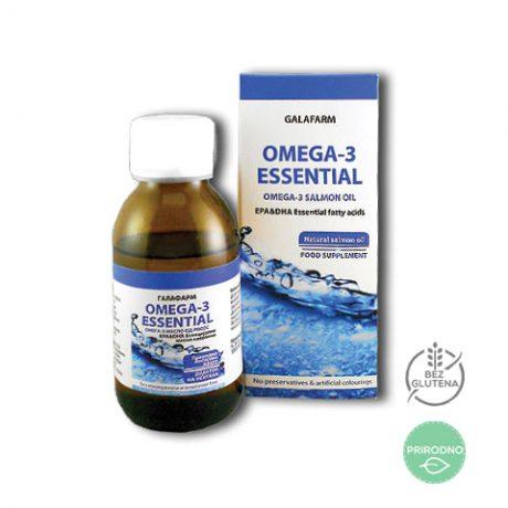 omega 3 lososovo ulje za imunitet u staklenoj bočici