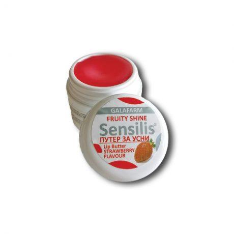 SENSILIS® mast/buter za usne jagoda u plastičnoj kutijici