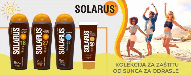 Solarus kolekcija za zaštitu od sunca za odrasle